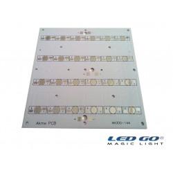 24LÜ KARE PCB-POWERLED DİZGİ İÇİN-12X12CM