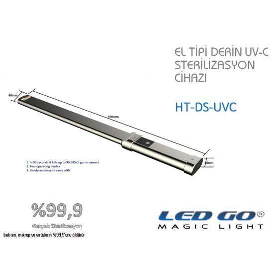 HT-DS-UVC EL TİPİ DERİN UV-C LED STERİLİZASYON CİHAZI
