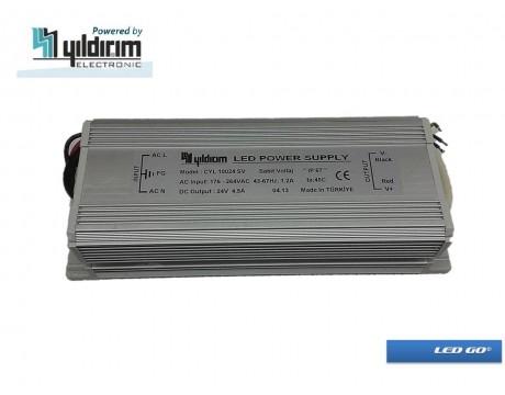 CYL 100 SERISI SABIT VOLTAJ LED SURUCU 100W 24VDC IP67