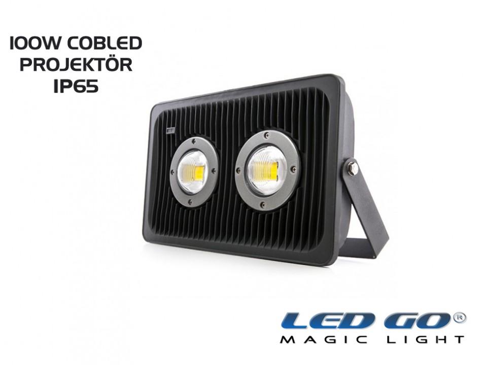 CP-ECO-100-24V AC-DC COBLED PROJEKTÖR,100W,IP65