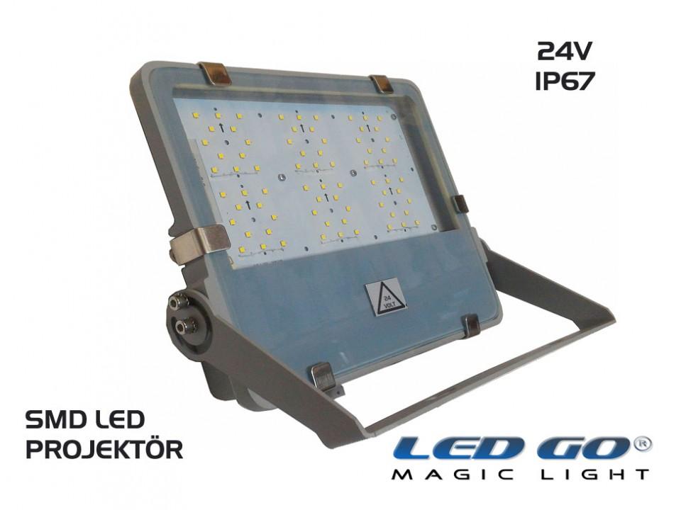 SP-44-24V Slim Led Projektör 24VAC-DC