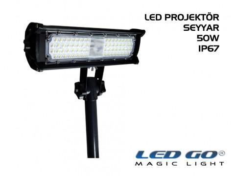 EPS-50, Elit Serisi SMDLED Seyyar Projektör, 50W, 220V, IP67