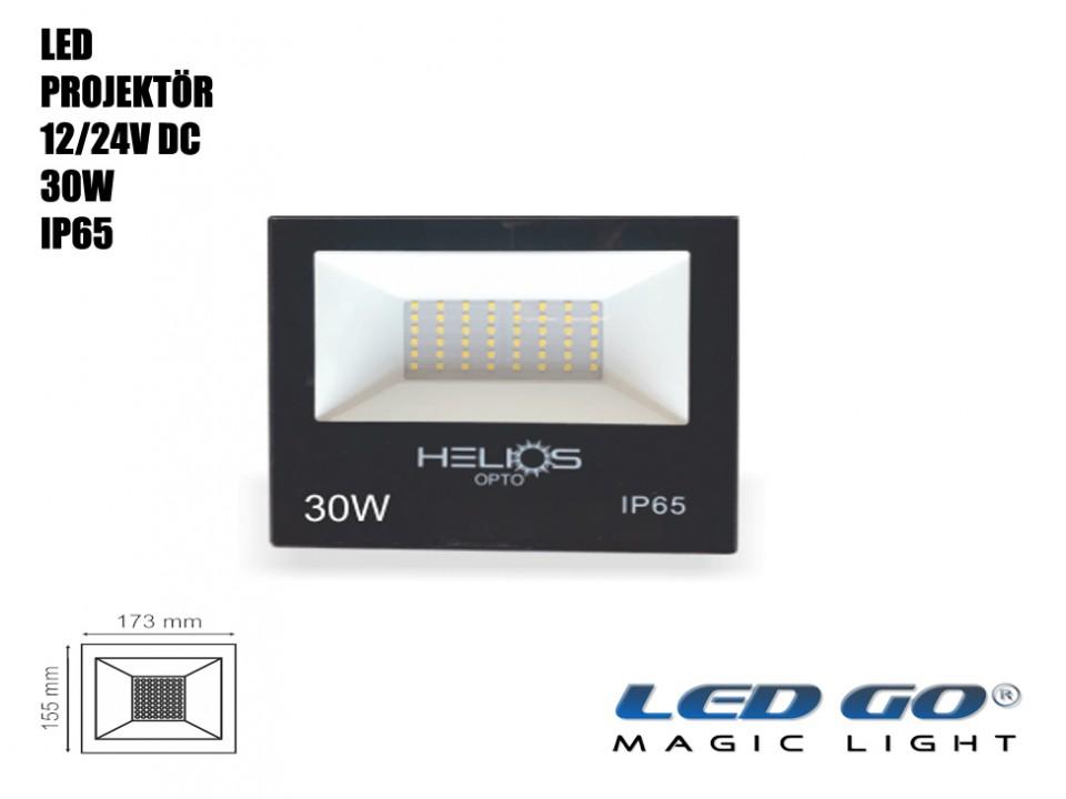 30W SMD LED PROJEKTÖR 12/24V DC