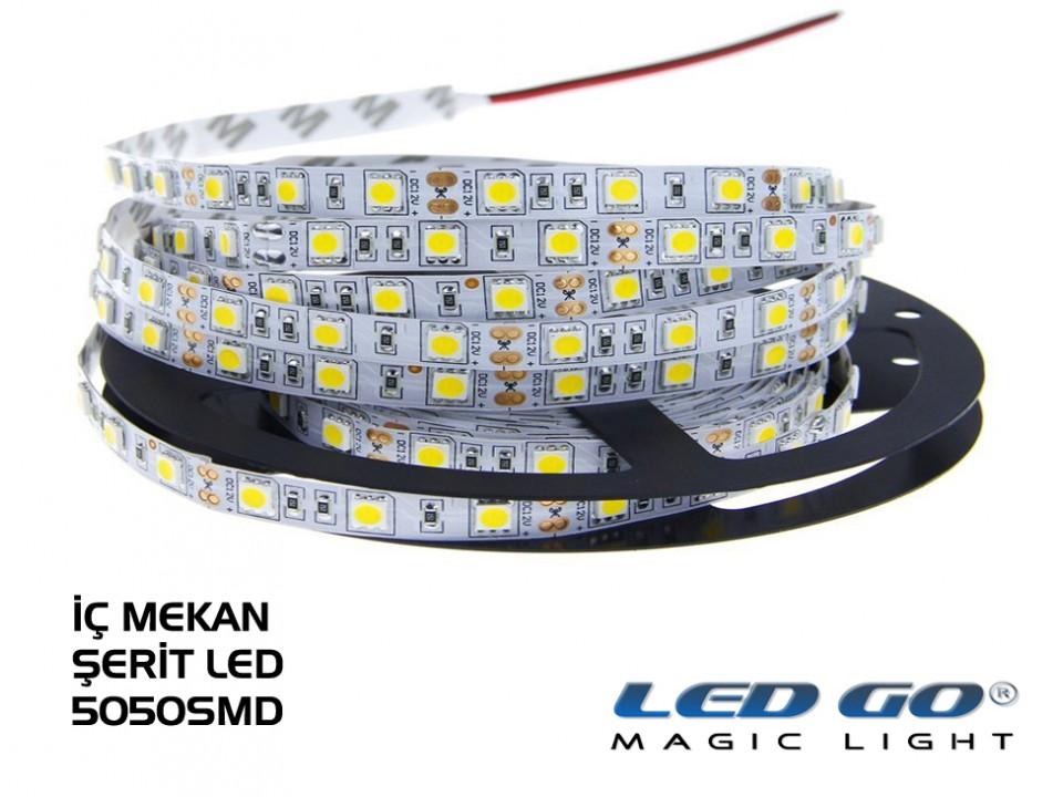 SERIT LED 5050SMD 300LED IC MEKAN 12VDC 5M PAKET