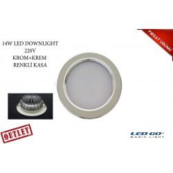 14W ÇİFTRENK LED DOWNLIGHT